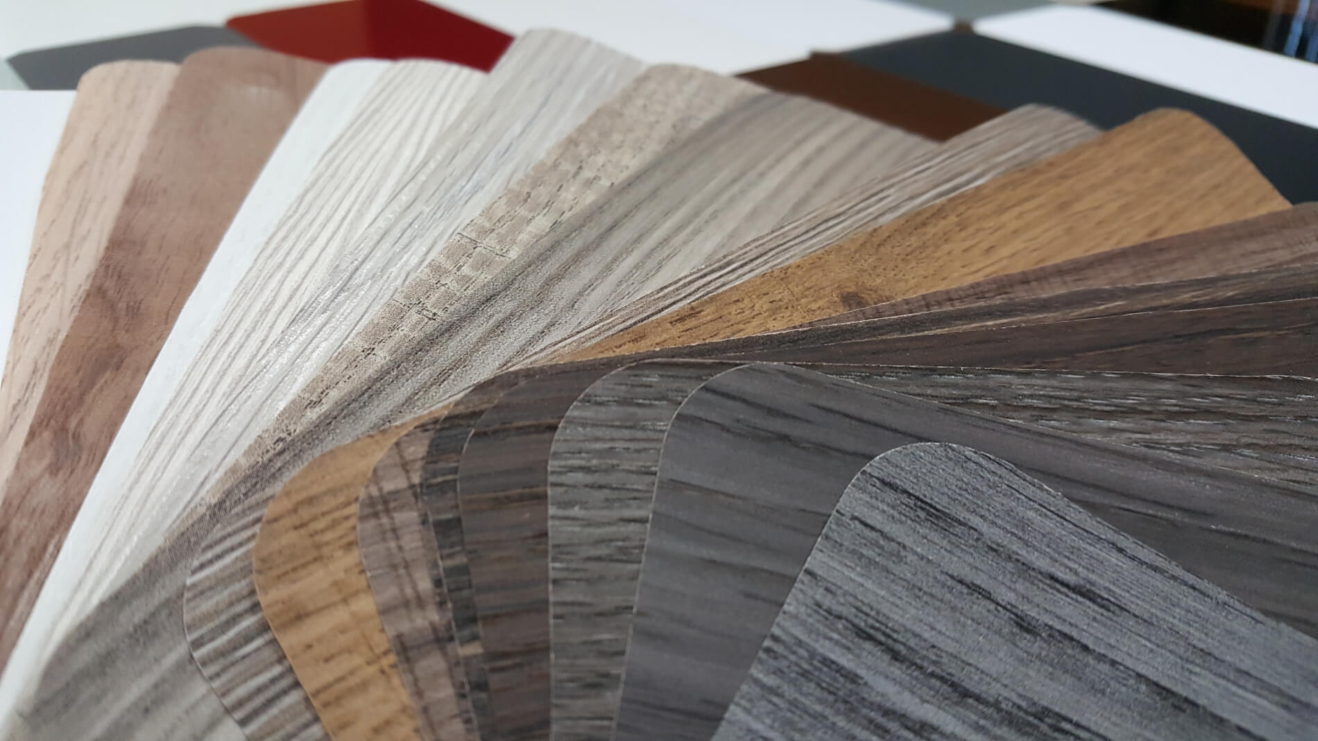 thermofoil wood grains